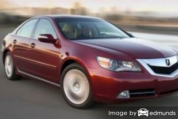Insurance quote for Acura RL in New Orleans