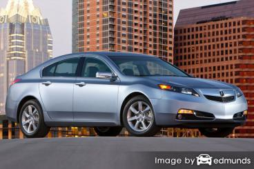 Insurance rates Acura TL in New Orleans