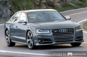 Insurance quote for Audi S8 in New Orleans