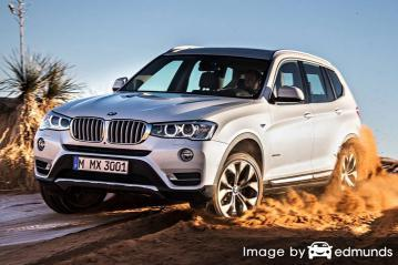 Insurance quote for BMW X3 in New Orleans