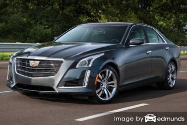 Insurance rates Cadillac CTS in New Orleans