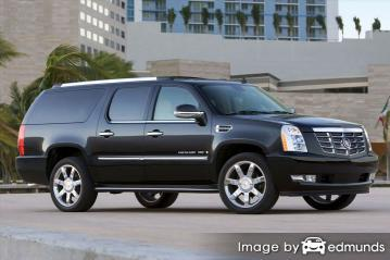 Insurance quote for Cadillac Escalade ESV in New Orleans