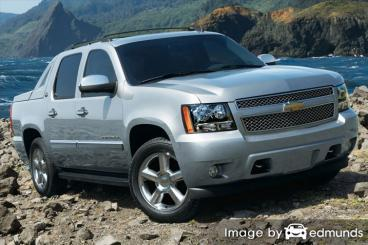 Insurance rates Chevy Avalanche in New Orleans