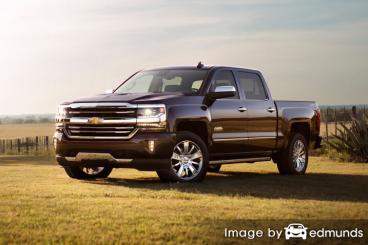 Insurance rates Chevy Silverado in New Orleans