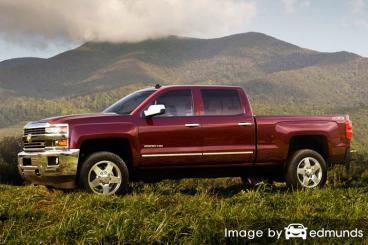 Insurance quote for Chevy Silverado 2500HD in New Orleans