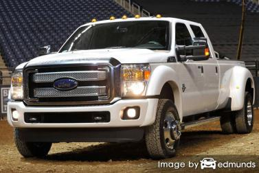 Insurance rates Ford F-350 in New Orleans