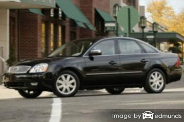 Discount Ford Five Hundred insurance