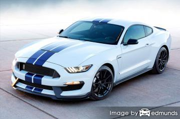 Insurance rates Ford Shelby GT350 in New Orleans