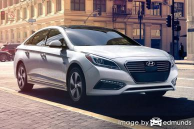 Insurance rates Hyundai Sonata Hybrid in New Orleans