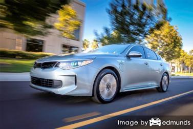 Insurance rates Kia Optima Plug-In Hybrid in New Orleans