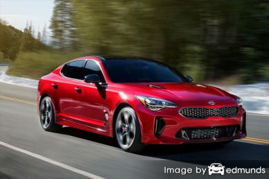 Insurance rates Kia Stinger in New Orleans