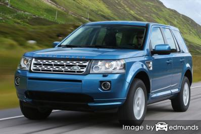Insurance rates Land Rover LR2 in New Orleans