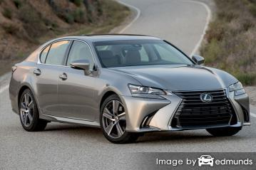 Insurance quote for Lexus GS 200t in New Orleans