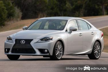 Insurance quote for Lexus IS 250 in New Orleans