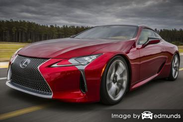 Insurance quote for Lexus LFA in New Orleans
