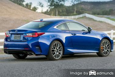 Insurance quote for Lexus RC 200t in New Orleans