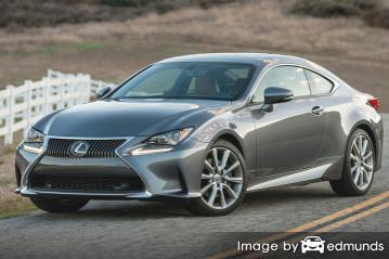 Insurance quote for Lexus RC 300 in New Orleans
