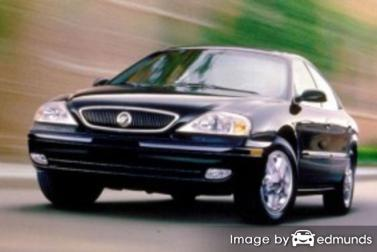 Insurance rates Mercury Sable in New Orleans