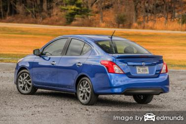 Insurance quote for Nissan Versa in New Orleans
