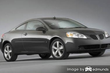 Insurance rates Pontiac G6 in New Orleans