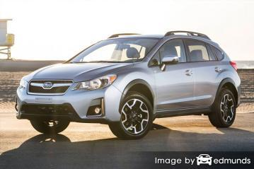 Insurance rates Subaru Crosstrek in New Orleans