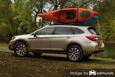 Insurance quote for Subaru Outback in New Orleans
