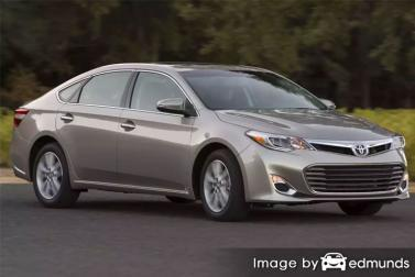 Insurance rates Toyota Avalon in New Orleans