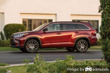 Insurance quote for Toyota Highlander in New Orleans