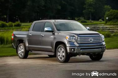 Insurance rates Toyota Tundra in New Orleans