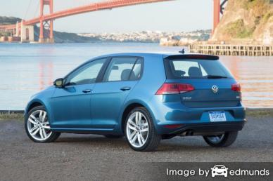 Insurance quote for Volkswagen Golf in New Orleans